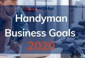 Handyman Business Goals 2020