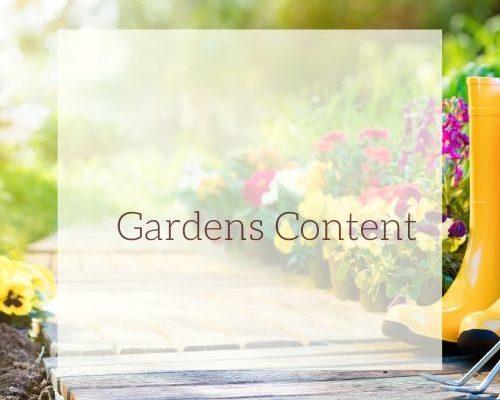 Gardens Content